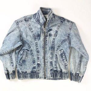 Nike Vintage Retro Denim Washed Jacket
